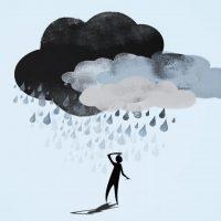Художественное изображение депрессии.