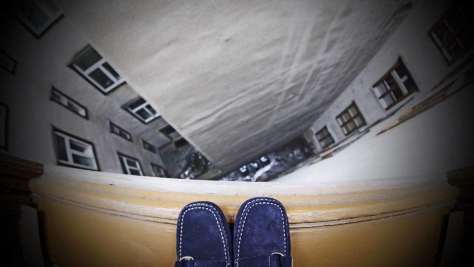 Страх высоты - акрофобия.