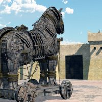 Троянский конь.